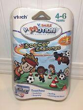 Vtech VSmile Motion Learning System Soccer Challenge Game Cartridge Spelling NEW
