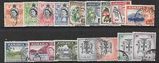 More details for jamaica sg159/74 1956 definitives fine used