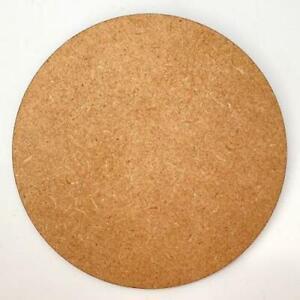 30 - 100mm Circle Disc MDF Wood Craft Decoration Embellishment Laser cut
