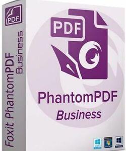 Foxit PhantomPDF Business 10.1✔️ for windows ✔️Lifetime activated ✔️
