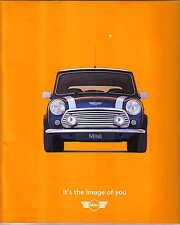 Rover Mini 1.3i & Cooper 1996-99 Original UK Sales Brochure Pub. No. 5267 1996