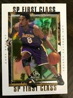 99-00 SP Authentic Kobe Bryant SP First Class Insert