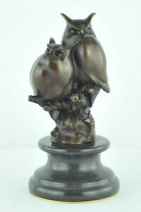 Cleycye Statue en forme de chouette avec t/ête rotative grand hibou r/éaliste pour jardin//maison//ext/érieur oiseaux//pigeon//mouette//corbeau