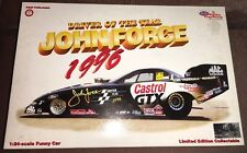 ACTION NHRA CASTROL GTX FUNNY CAR JOHN FORCE 1996 DRIVER OF THE YEAR 1:24 MIB