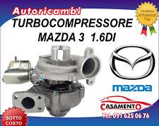 TURBOCOMPRESSORE MAZDA 3 1.6DI 80KW DAL 1/2003 IN POI