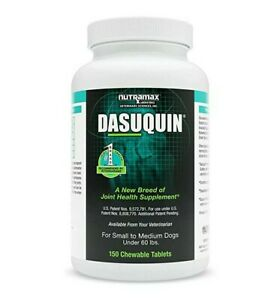 Dasuquin Chewable Tablets (150 ct) Small to Medium Dogs Joint Supplement BB 2023