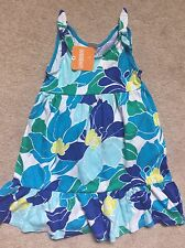 GYMBOREE DRESS 3t BLUE Flowers NWT NEW SPRING OUTFIT Casual Long Dress