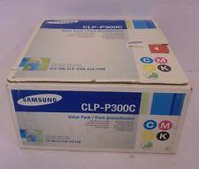 Samsung Toner CLP-P300C Value Pack CMYK   f. CLP-300 CLX-2160  CLX-3160
