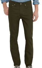 Levi's-511 Men Commuter Jean Presidio Green US 33x34 Slim Fit Stretch $74- 105