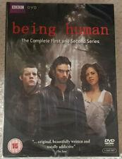 DVD Being Human - Series 1 & 2 Box Set [DVD] New & Sealed