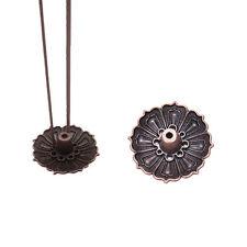 9 Holes Lotus Incense Burner Holder Flower Statue Censer Plate For Sticks&Con DH