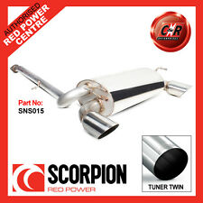 Nissan 350z 2003 - 2010 Scorpion Car Exhaust Cat-back System Daytona Performance