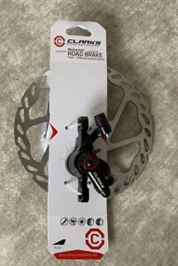 » Clarks Road Mechanical Disc Brake Caliper and 160mm Rotor FITS FRONT OR REAR