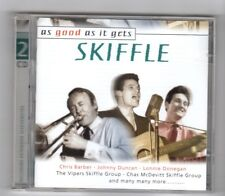 (HY875) As Good As It Gets: Skiffle, 61 tracks - 2000 double CD