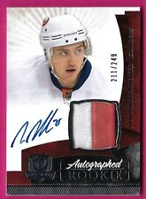 Nino Niederreiter - 2010-11 The Cup Jersey Auto Rc - #'d 211/249 Card #169