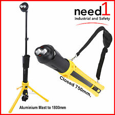 JMV CREE LED WORK LIGHT PORTABLE  RECHARGEABLE EXTENDABLE TO 1.8M