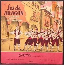 "LOS DE ARAGON - ZARZUELA BY J.J. LORENTE - J. SERRANO ORIGINAL ENGLISH 10"" RARE!"