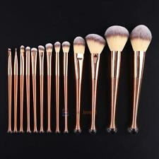13pcs Set Pro Cosmetic Makeup Tool Powder Eyeshadow Lip Blush Foundation Brush