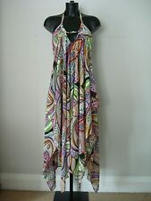 ROSUREL LADIES LOVELY  SUMMER BEACH  COVER UP  DRESS SIZE- FREE SIZE