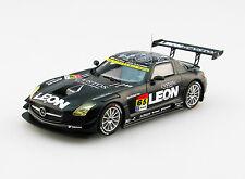 EBBRO 45288 1:43 LEON SLS SUPER GT300 2015 Rd.1 Okayama #65 Black