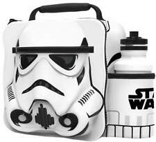 STORM TROOPER Insulated 3D Lunch Bag Box And Drink Sport Water Bottle Set