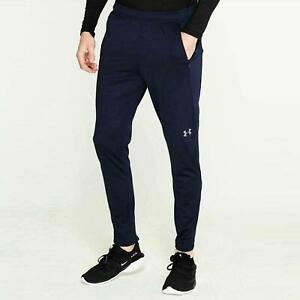 Under Armour Challenger II Junior Boys Navy Training Pants Zip Pockets Joggers