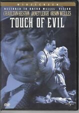 Touch Of Evil, 1958 Drama/ Mystery Film, Orson Welles, Charlton Heston, Used Dvd