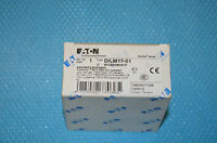 EATON DILM17-01 Contactor 230V/240V 7,5kW 400V   XTCE018C01F