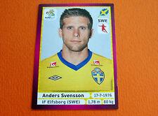 441 SVENSSON ELFSBORG SVERIGE FOOTBALL PANINI UEFA EURO 2012