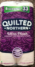 Quilted Northern Ultra Soft & Strong Toilet Paper, 8 Supreme Rolls = 33 Regular