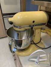 KitchenAid 5-Quart Artisan Tilt-Head Stand Mixer | Majestic Yellow