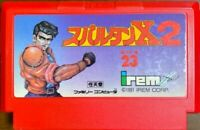 Famicom FC NES Spartan X2 Kung Fu Master 2 Japan Game Nintendo Retro Game