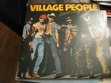 The Village People ; Live and Sleazy  on  LP