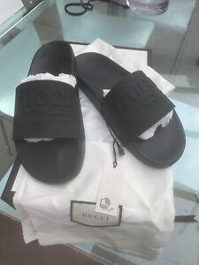 Mens Gucci Slides Brand New Size 8 UK