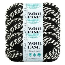 Lion Brand Yarn 640-603 Wool-Ease Thick & Quick Yarn, Tigers (Pack of 3 skeins)