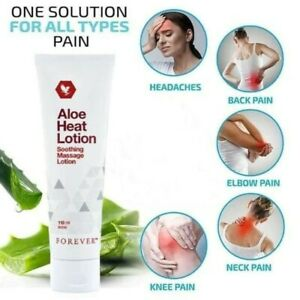 Aloe Vera Heat Lotion FOREVER LIVING Soothing Massage Fitness Muscle Pain