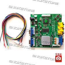 VIDEO CONVERTER BOARD ARCADE GAME GBS8220 RGB CGA EGA YUV to VGA ATARI AMIGA