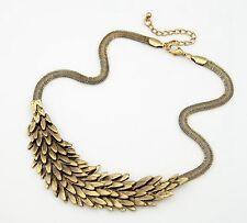 Collares Vintage bronze Statement Necklaces Pendants for Women Bijoux Fashion
