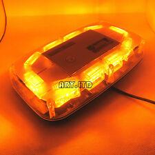 30W 30 LED Emergency Beacon Light Bar Strobe Flashing Warning Lamp Amber 12V/24V