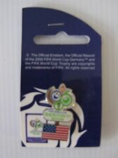 PINS - FIFA WORLD CUP GERMANY 2006 FOOTBALL CALCIO <USA> UFFICIALE