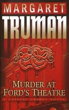 Murder at Ford's Theatre Margaret Truman Capital Crimes Mystery 1st Edition