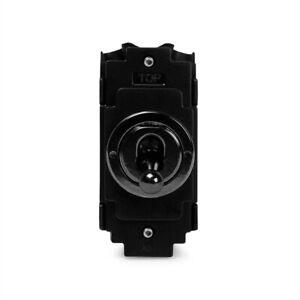 Soho Lighting Black Nickel 2 Way Retractive Toggle Switch Module
