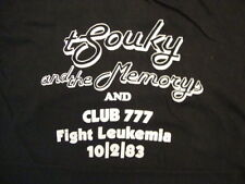 Vintage Tsouky and the Memorys and Club 777 Fight Leukemia Black T Shirt S / M