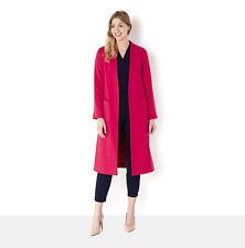 Helene Berman Edge To Edge Longline Throw On Coat UK Size 16 TD077 KK 02