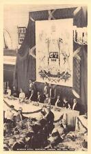 WINDSOR HOTEL MONTREAL CANADA BRITISH ROYALTY BANQUET POSTCARD 1939