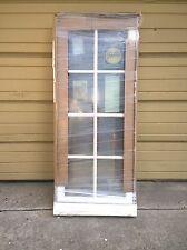 New: Pella Premium Home Wood Casement Window w/ Aluminum Cladding & Grids 23x51