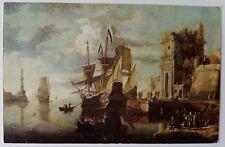 Schöne alte Ansichtskarte AK - Museo Del Prado Parcellis un Puerto de mar