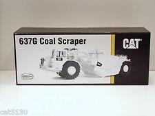 """Caterpillar 637G COAL Scraper w/ Auger - """"WHITE"""" - 1/48 - CCM - Brass - MIB"""
