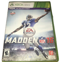 Madden NFL 16 Xbox 360 Kids Football Game 2016