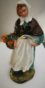 Royal Doulton Figurine - Country Lass - HN1991 Lady Holding Goose Figure